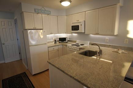 Truro Cape Cod vacation rental - Modern kitchen with breakfast bar