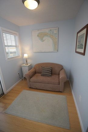 Truro Cape Cod vacation rental - Upstairs loft with pullout - perfect for extra guests!