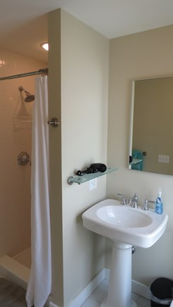 Provincetown Cape Cod vacation rental - Bathroom off the of the second bedroom right side.