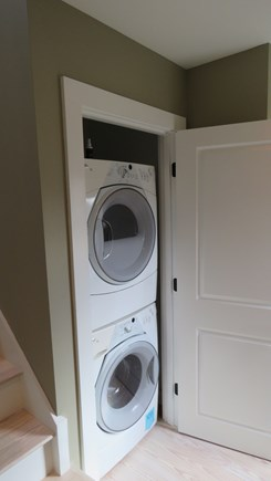 Provincetown Cape Cod vacation rental - Large capacity washer and dryer
