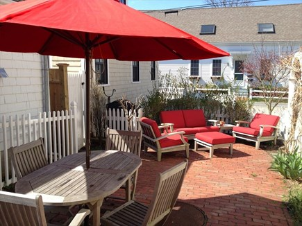 Provincetown Cape Cod vacation rental - Spacious Outdoor Patio area, with entrance from Law Street