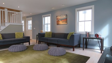 Provincetown Cape Cod vacation rental - Large open Living room with multiple sofas