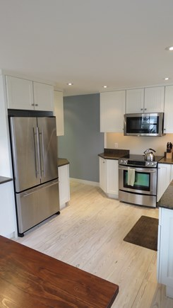 Provincetown Cape Cod vacation rental - Kitchen with Jenn-Air appliances, and granite countertops