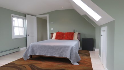 Provincetown Cape Cod vacation rental - Master Third floor Bedroom, views of Monument and bay