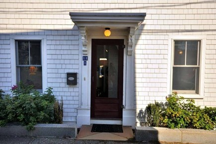 Provincetown Cape Cod vacation rental - Front Door to Arch Street #1