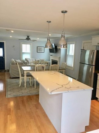 Provincetown Cape Cod vacation rental - Center Island seating area