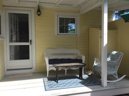 248 Old Wharf Road, dennis Cape Cod vacation rental - Covered back deck