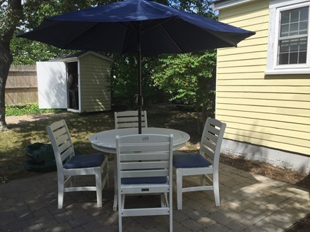 248 Old Wharf Road, dennis Cape Cod vacation rental - Outdoor eating area