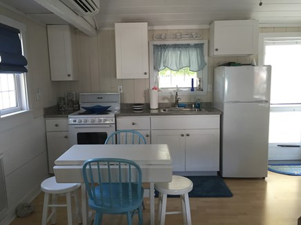 248 Old Wharf Road, dennis Cape Cod vacation rental - Table can accommodate 4 people