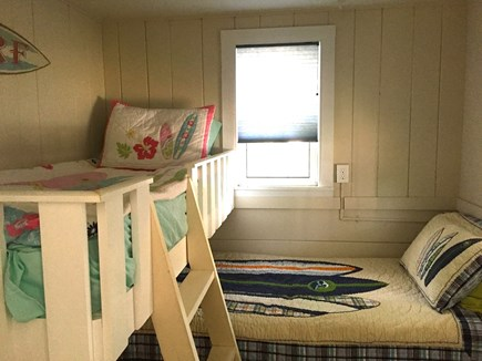 248 Old Wharf Road, dennis Cape Cod vacation rental - Twin bed and a slightly smaller built in