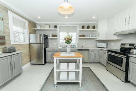 Downtown Plymouth MA vacation rental - Newly renovated kitchen with all the amenities you need.