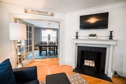 Downtown Plymouth MA vacation rental - Smart TV and wifi included.