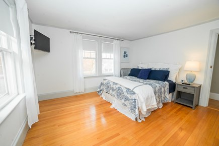 Downtown Plymouth MA vacation rental - Queen size bedroom.