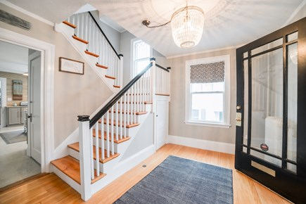 Downtown Plymouth MA vacation rental - Come in from the large front porch to the stylish entryway .