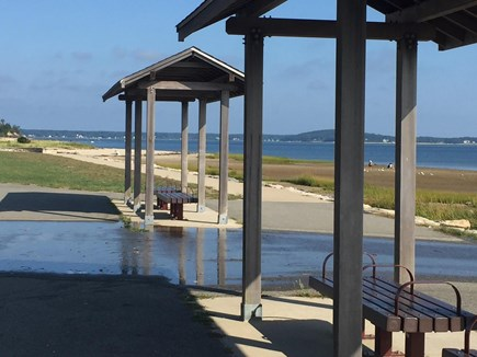 Downtown Plymouth MA vacation rental - Nelson Beach is less than a 1/2 mile walk from the home.
