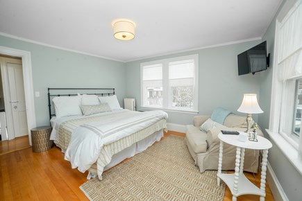 Downtown Plymouth MA vacation rental - King size bedroom.