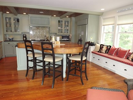 Chatham Cape Cod vacation rental - Updated kitchen with beautiful custom islands with views.