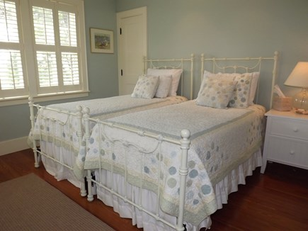 Chatham Cape Cod vacation rental - First level twin bedroom with bathroom en suite.