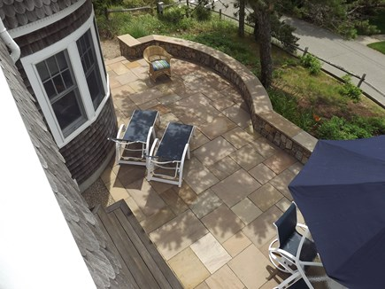 Chatham Cape Cod vacation rental - Patio with dining, grilling and lounge areas.