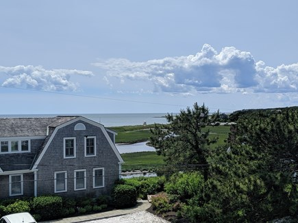 Chatham Cape Cod vacation rental - View of Nantucket Sound from upper balcony