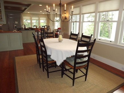 Chatham Cape Cod vacation rental - Open dining area also with views.