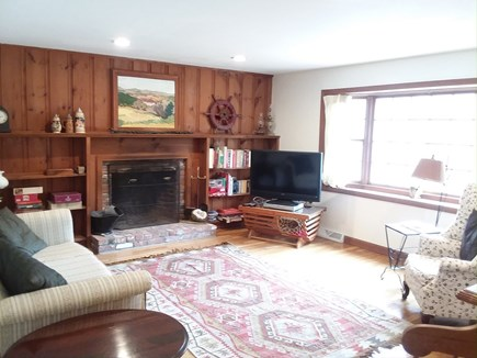 Dennis Cape Cod vacation rental - Big living room with flat screen cable TV