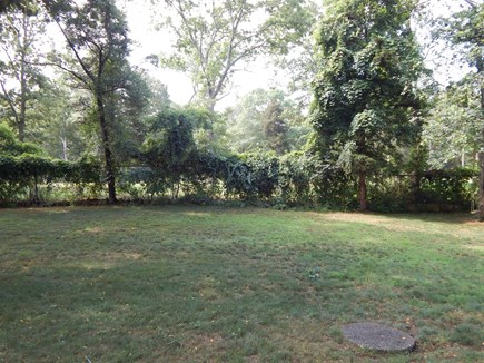 Falmouth, MA Cape Cod vacation rental - Big yard for games