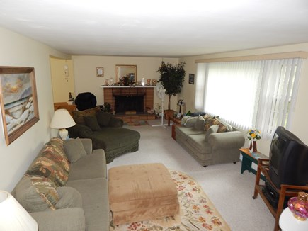 Falmouth, MA Cape Cod vacation rental - Spacious living room