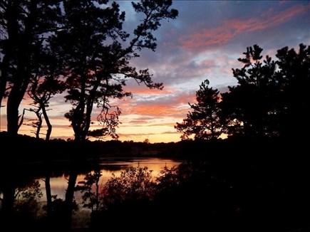 Brewster Cape Cod vacation rental - Sunset View from Back Deck
