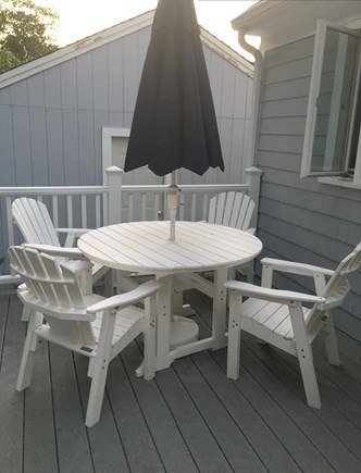 Falmouth, Maravista Cape Cod vacation rental - Outside deck with grill and outside shower