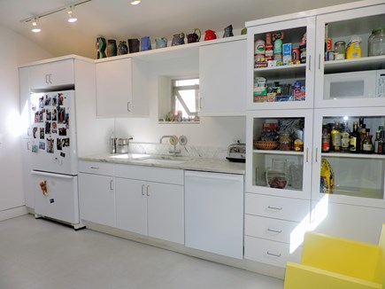 Woods Hole Woods Hole vacation rental - Modern Kitchen with white cabinets and clean lines