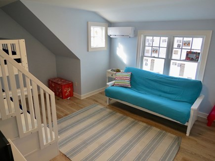 Brewster Cape Cod vacation rental - Futon in bunk room, upper level