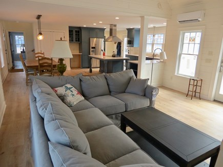 Brewster Cape Cod vacation rental - Spacious living room/TV lounge, main level