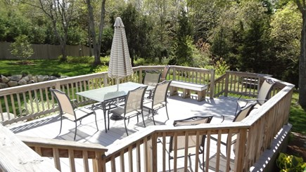 Orleans Cape Cod vacation rental - Lower deck