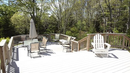 Orleans Cape Cod vacation rental - Upper deck