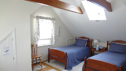 Orleans Cape Cod vacation rental - Bedroom #4 (2nd floor loft) w/2 Twins