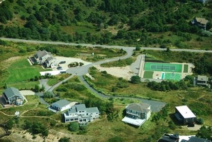 Truro Cape Cod vacation rental - Aerial view of private association with recreation facilities