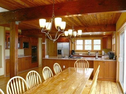 Truro Cape Cod vacation rental - Fully-equipped modern kitchen and dining