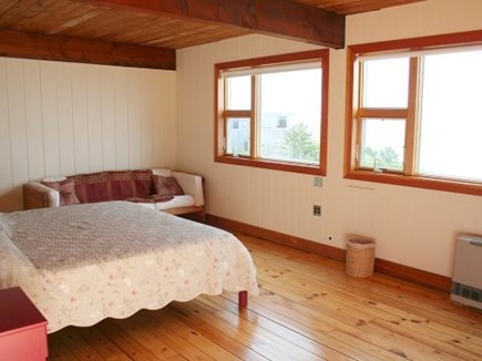 Truro Cape Cod vacation rental - Master bedroom with water views