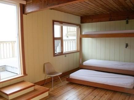Truro Cape Cod vacation rental - Bunk room with deck access