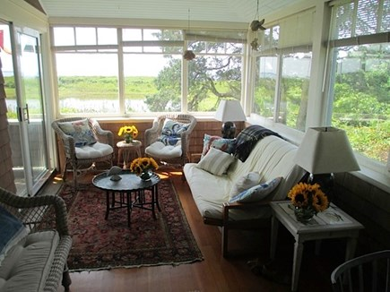Falmouth Cape Cod vacation rental - Sitting porch