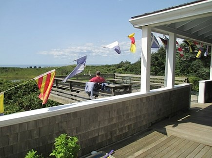 Falmouth Cape Cod vacation rental - Deck views