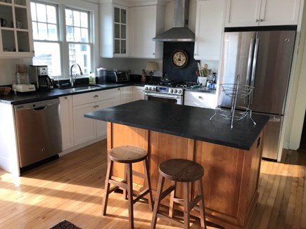 Falmouth Cape Cod vacation rental - Kitchen with island