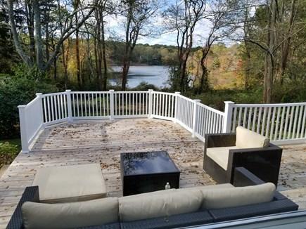 Marstons Mills, Barnstable Marstons Mills vacation rental - Deck overlooking lake