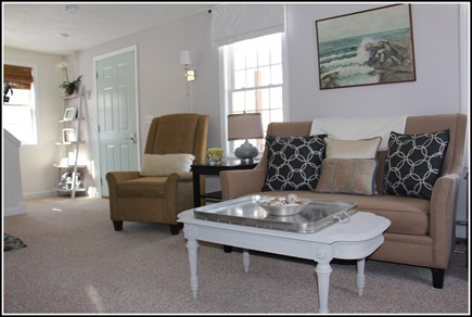 Plymouth MA vacation rental - Relax and enjoy the comfortable couch and chairs