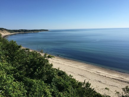 Plymouth MA vacation rental - Cliff view of Kingsbridge Shores and White Cliffs beach