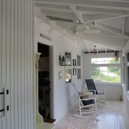 Cape Cod Bay @ Eastham Cape Cod vacation rental - Front Porch