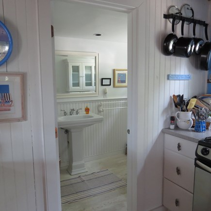 Cape Cod Bay @ Eastham Cape Cod vacation rental - Bathroom entrance