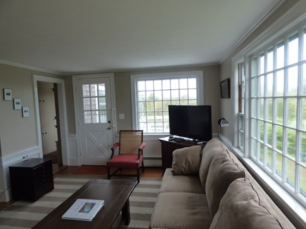 Chatham Cape Cod vacation rental - Living Room, with door out onto the deck