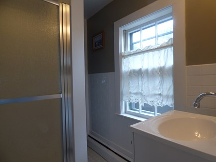 Chatham Cape Cod vacation rental - Upstairs Bath with Shower, shared by upstairs bedrooms